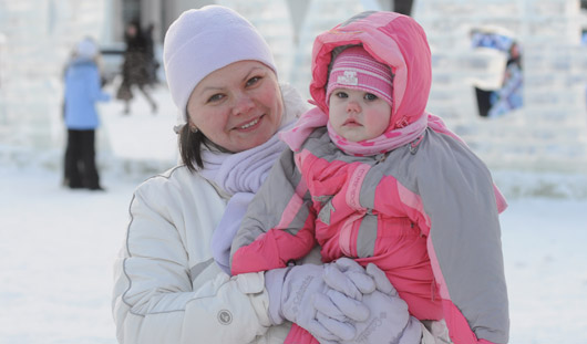 Потепление и снег придут в Ижевск после Крещения