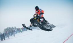 Ижевск достойно принял чемпионат России по гонкам на снегоходах