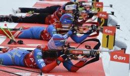 Российские биатлонистки завоевали «серебро» в эстафете на этапе Кубка мира
