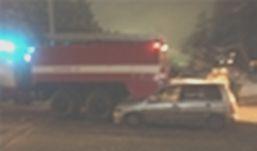 Пьяный водитель иномарки «догнал» пожарную машину