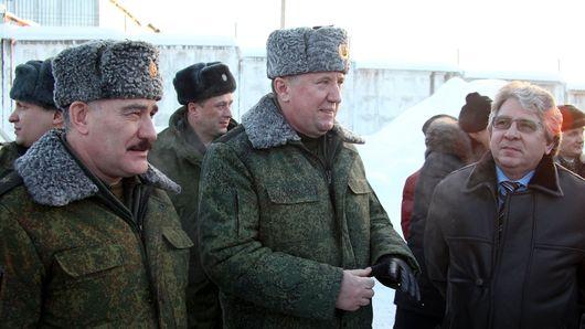 Генерал-полковник Владимир Чиркин изучает оборонный потенциал Удмуртии