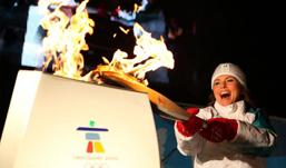 Ижевчанка лидирует в конкурсе на звание факелоносца Олимпийского огня