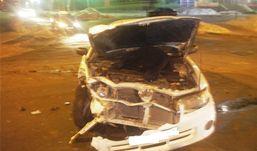 Иномарка и ВАЗ столкнулись в Ижевске
