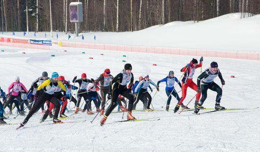 Шапочек на «Лыжне России» в Ижевске хватит не всем
