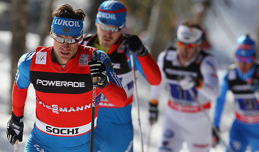 Максим Вылегжанин и Дмитрий Япаров завоевали «золото» на Кубке мира по лыжным гонкам