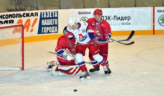 «Ижсталь» проиграла ярославскому «Локомотиву» со счётом 3:4