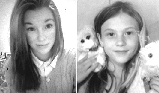 В Ижевске разыскиваются две 12-летние школьницы