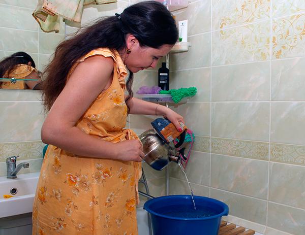 Новости сюжета - Ограничения подачи горячей воды в жилые